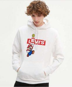 Levi's x Super Mario Hoodie White