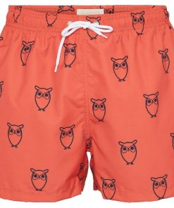 Knowledge Cotton Apparel Bay All Over Swimshorts Scarlett