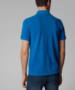 Hugo Boss Prime Jersey Shirt Blue