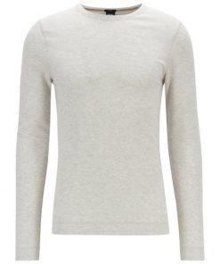 Hugo Boss Tempest Long-Sleeve T-Shirt Natural