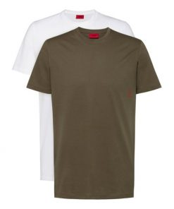 Hugo Boss 2-Pack T-shirts White/Green