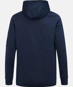 Peak Performance Tech Zip Hood Blue