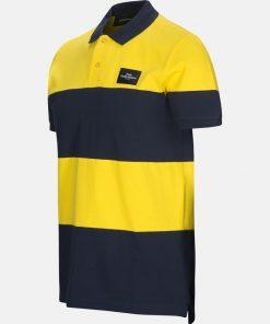 Peak Performance Original Block Polo Shirt Stowaway Yellow