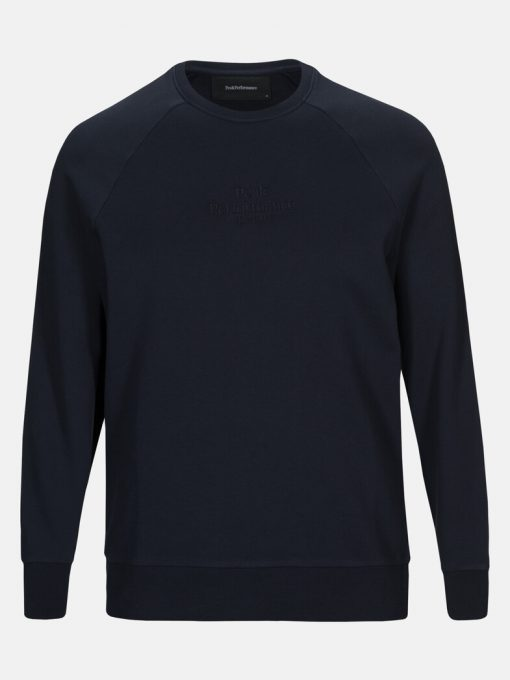 Peak Performance Original Light Crew Neck Men Blue Shadow