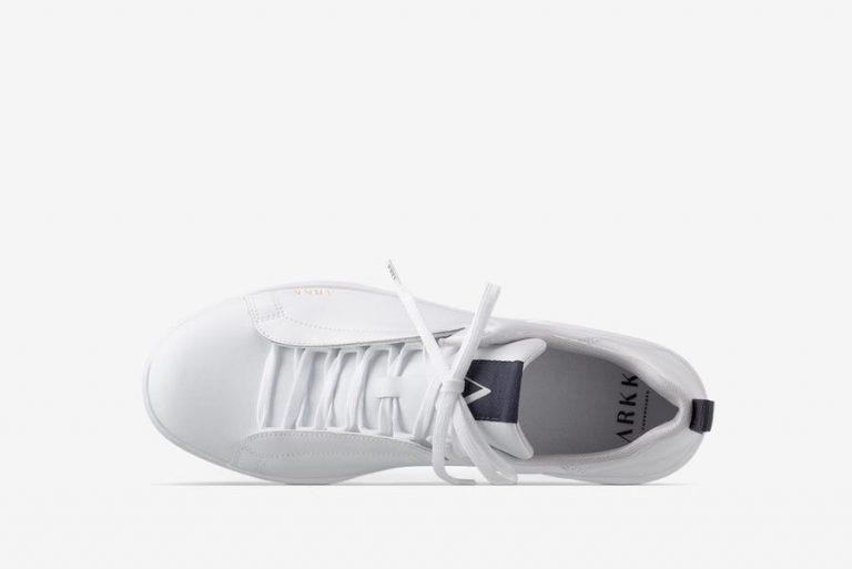 Arkk Copenhagen Uniklass Leather Shoe Men White