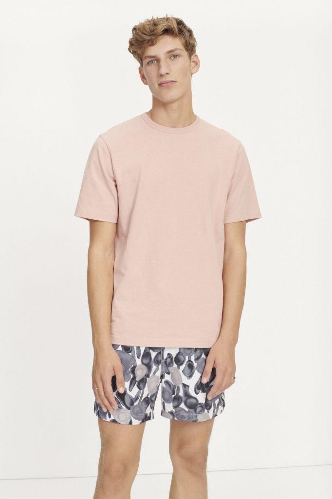 Samsoe & Samsoe Hugo T-shirt Misty Rose