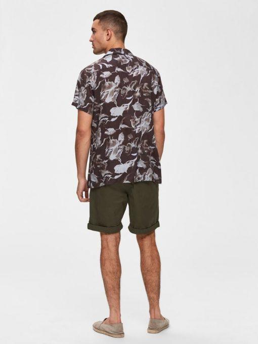 Selected Homme Paris Regular Fit Shorts Green