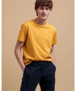 Gant The Original T-Shirt Ivy Gold