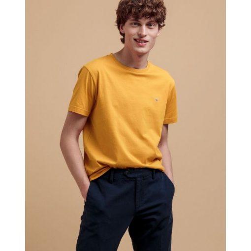 Gant The Original T-Shirt Ivy Gold