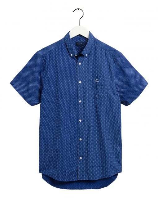 Gant Printed Shirt Regular fit Crisp blue