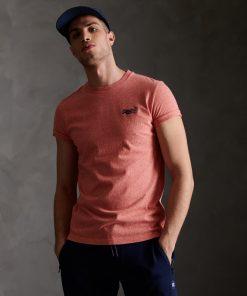 Superdry Orange Label Vintage Embroidery T-Shirt Grenadine Grit
