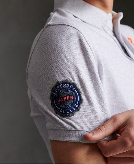 Superdry Classic Superstate Polo Ice Marl
