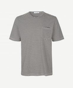 Samsoe & Samsoe Finn T-shirt Black Stripe