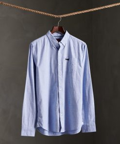 Superdry Classic University Oxford Shirt Blue