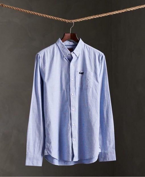 Superdry Classic University Oxford Shirt Blue