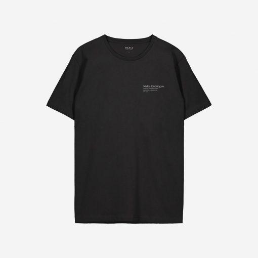 Makia x Von Wright Caught T-shirt Black