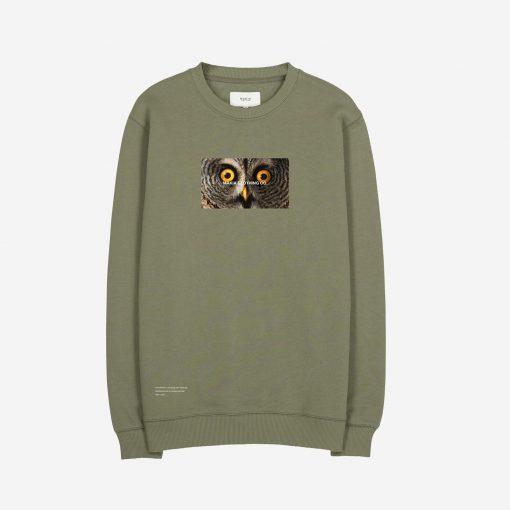Makia x Von Wright Stare Sweatshirt Green