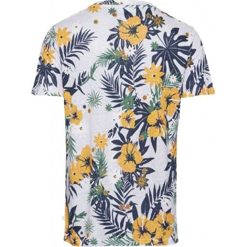 Knowledge Cotton Apparel Alder Flower T-shirt