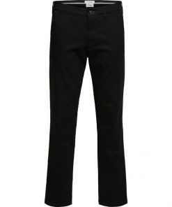 Selected Homme Miles Flex Chino Pants Black