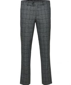Selected Carlo Cotflex Pants Grey