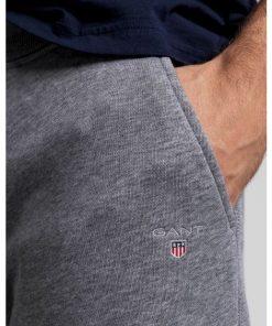 Gant The Original Sweatpants Dark Grey Melange