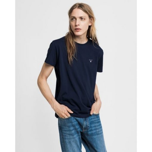 Gant The Original T-Shirt Evening Blue