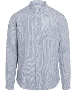 Knowledge Cotton Apparel Larch Linen Shirt