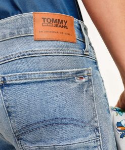 Tommy Jeans Ronnie Denim Shorts Barton Light Blue