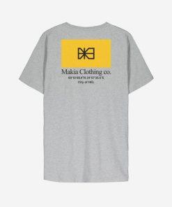 Makia Barrier T-shirt Grey