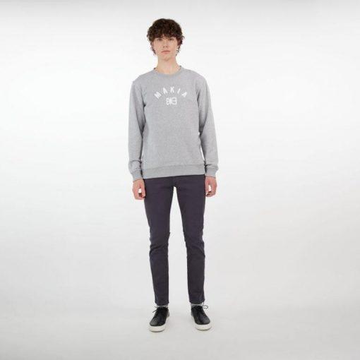 Makia Brand Sweatshirt Grey