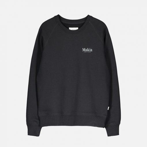 Makia Origin Sweatshirt Black