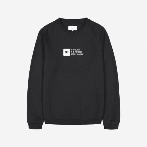 Makia Flint Light Sweatshirt Black