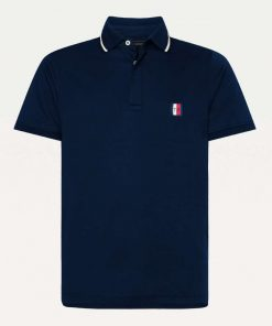 Tommy Hilfiger Sophisticated Jersey Polo Dark blue