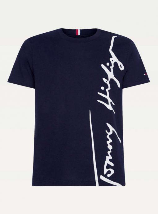 Tommy Hilfiger Cool Organic Cotton T-shirt Blue