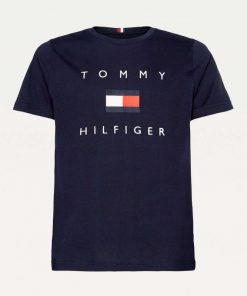 Tommy Hilfiger Flag T-shirt Navy blue