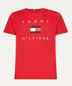 Tommy Hilfiger Flag T-shirt Red