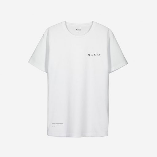 Makia x Von Wright Lynx T-shirt White