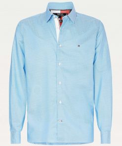 Tommy Hilfiger Flex Two Tone Shirt Blue