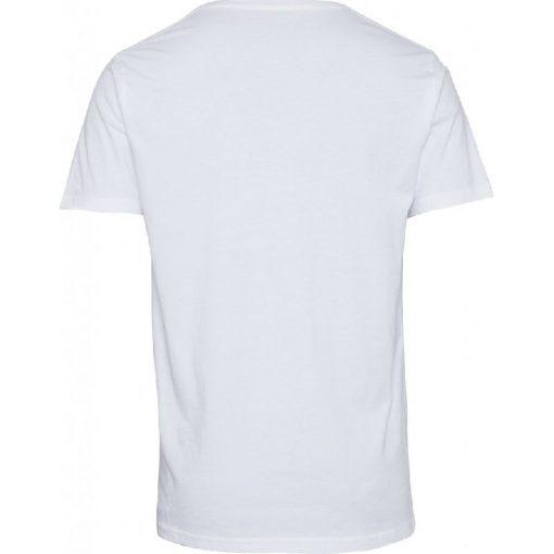 Knowledge Cotton Apparel Alder Basic V-neck Tee White