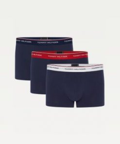 Tommy Hilfiger 3-Pack Stretch Cotton Trunks Peacoat