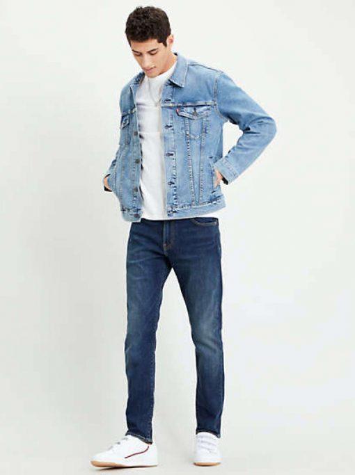 Levi´s 512 Slim Taper Jeans Brimstone Dark Blue