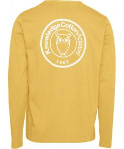 Knowledge Cotton Apparel Locust Long Sleeve Zennia Yellow