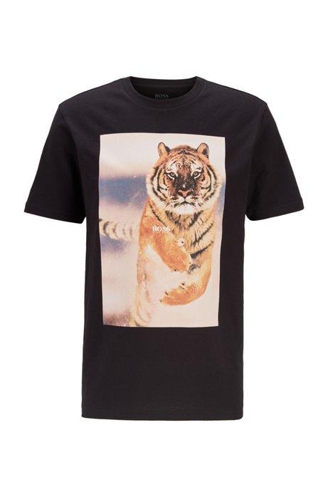 Hugo Boss Tomio 4 Jersey T-shirt Black