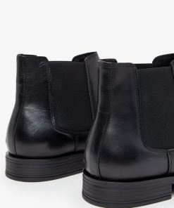 Bianco Biabyron Leather Chelsey Black