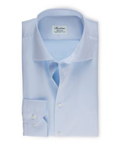 Stenströms Shirt Fitted Body Light Blue
