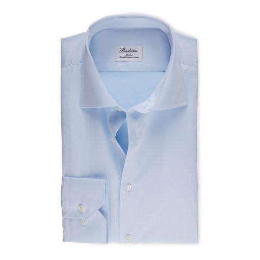 Stenströms Slim fit Shirt Light blue