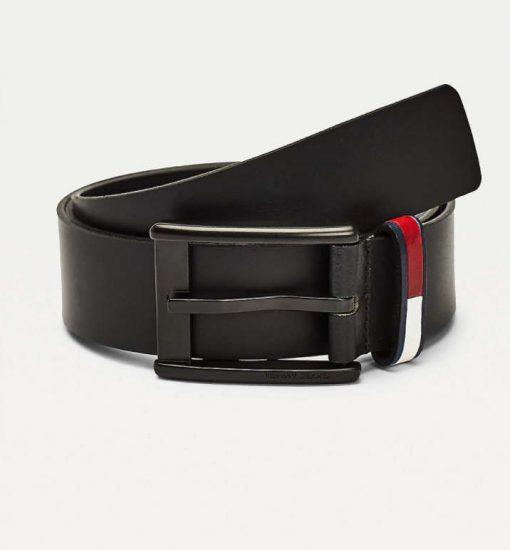 Tommy Hilfiger Flag Leather Belt