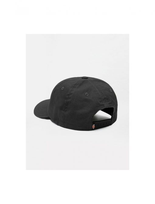 Dickies 6 Panel Logo Cap Black