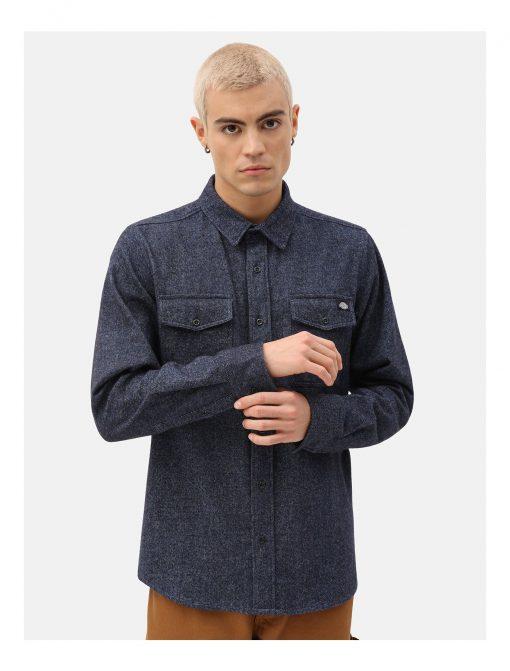 Dickies Woodmere Shirt Dark Blue