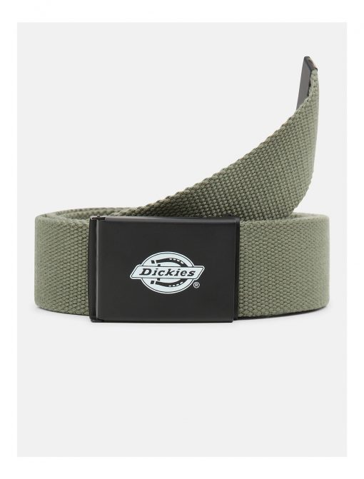 Dickies Orcutt Logo Buckle Belt Green